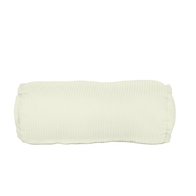 Devonshire of Nottingham 540 Thread Count 100% Cotton Bolster Pillow Color: Ivory
