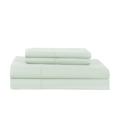 Devonshire of Nottingham 650 Thread Count Egyptian Quality Cotton Sheet Set Size: King, Color: Celedon