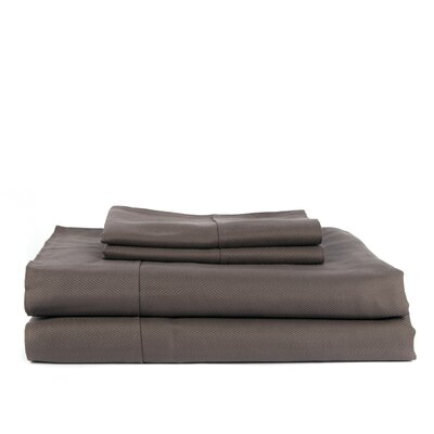 Devonshire of Nottingham 700 Thread Count Egyptian Quality Cotton Sheet Set Color: Gray, Size: King