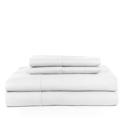 Devonshire of Nottingham 700 Thread Count Egyptian Quality Cotton Sheet Set Size: Full, Color: White