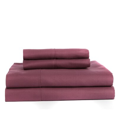 Devonshire of Nottingham 700 Thread Count Egyptian Quality Cotton Sheet Set Color: Purple, Size: Queen