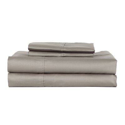 Hotel Concepts 320 Thread Count Egyptian Quality Cotton Sheet Set Size: Queen, Color: Gray