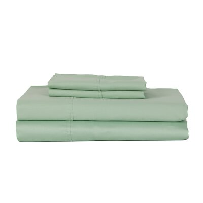 Hotel Concepts 320 Thread Count Egyptian Quality Cotton Sheet Set Size: Twin, Color: Ocean Blue