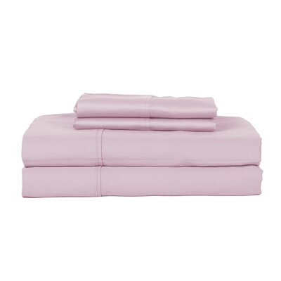 Hotel Concepts 320 Thread Count Egyptian Quality Cotton Sheet Set Size: Full, Color: Lavender