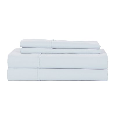 Hotel Concepts 320 Thread Count Egyptian Quality Cotton Sheet Set Color: Light Blue, Size: Queen