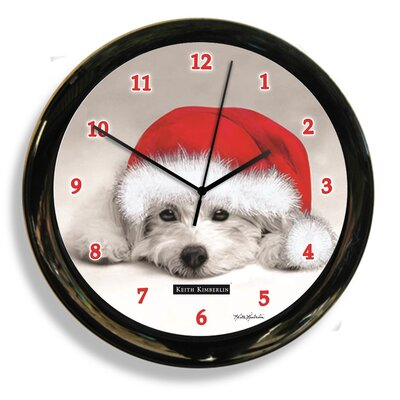 "9"" Dog by Keith Kimberely Clock 41615"