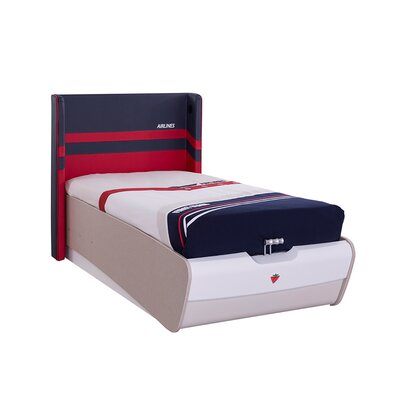 First Class Airplane Twin Panel Bed with Storage