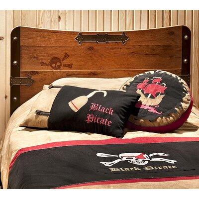 Black Pirate 3 Piece Comforter Set