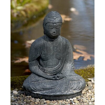 Buddha Statue Color: Alpine Stone OR-06-AS