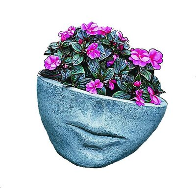 Cast Stone Pot Planter Size: Small, Finish: Alpine Stone P-174-AS