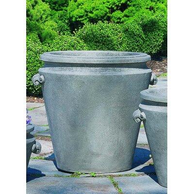 Round Pot Planter Size: Large, Finish: Alpine Stone P-293A-AS