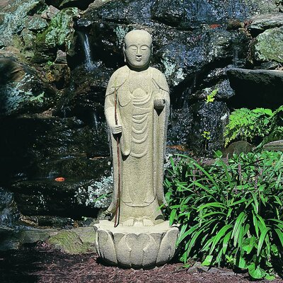 Morris Standing Buddha Statue Color: Alpine Stone OR-28-AS
