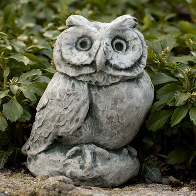 Merrie Little Owl Statue