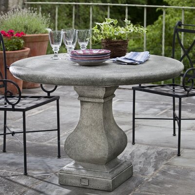 Vence Bistro Table Finish: Alpine Stone