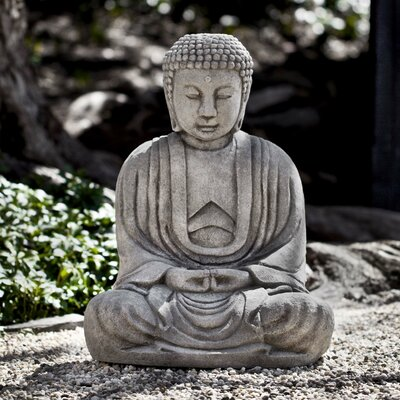 Kyoto Buddha Statue Color: Alpine Stone OR-143-AS