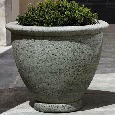 Round Pot Planter Finish: Alpine Stone, Size: Small P-520-AS
