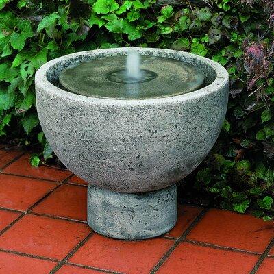 Concrete Rustica Pot Fountain Finish: Alpine Stone FT-49-AS