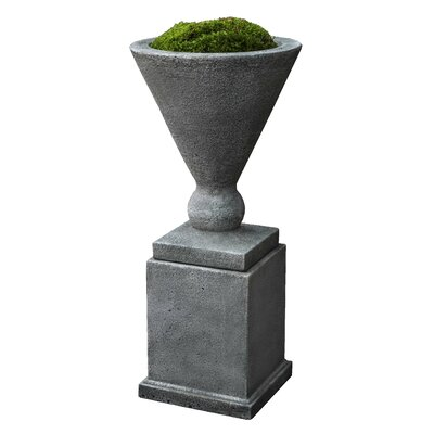 Manhattan Novelty Urn Planter Finish: Pietra Vecchia