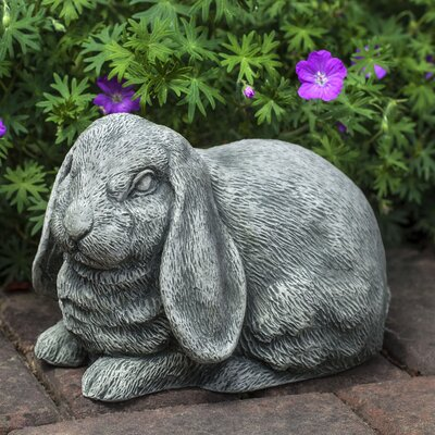 Lop-Eared Bunny Statue Color: Terra Nera
