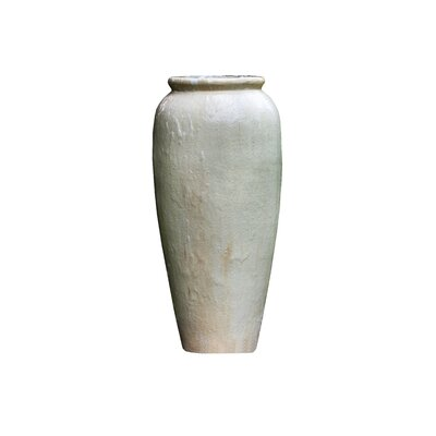 Image of Nico Jar Ceramic Urn Fountain Color: Antique Pearl