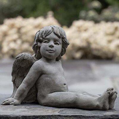 Campania International, Inc Angelica Angel Statue - Color: Verde