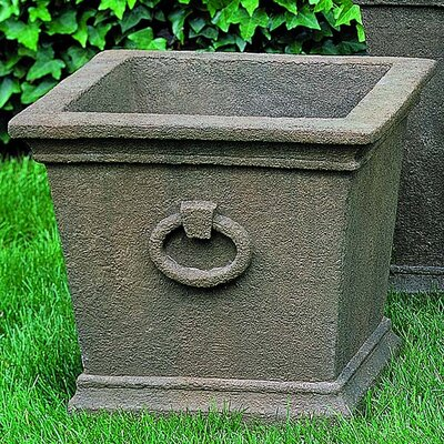 Bellagio Cast Stone Pot Planter Finish: Alpine Stone P-336B-AS