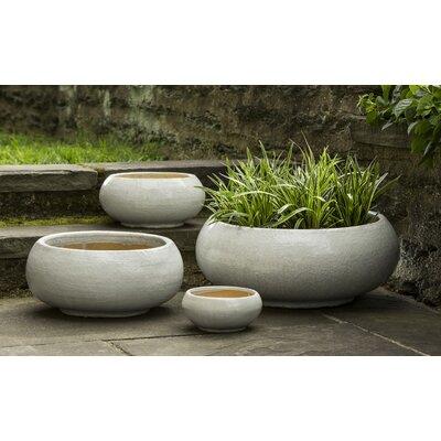 Pettengill 4-Piece Terra Cotta Pot Planter Set Color: Antique Pearl