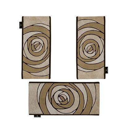 Horizon 3 Piece Beige Area Rug Set