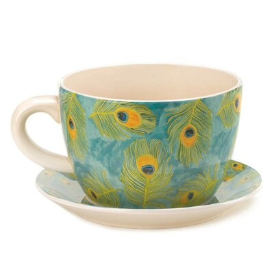 Teacup Pot Planter with Saucer 10016839