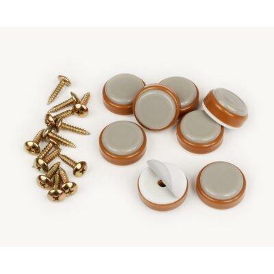 1 Furniture/Floor Protective Foot Slider Color: Caramel
