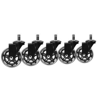 Rollerblade Office Chair Casters Color: Black