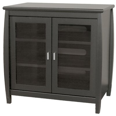 Yellow Springs 30 TV Stand Color: Black