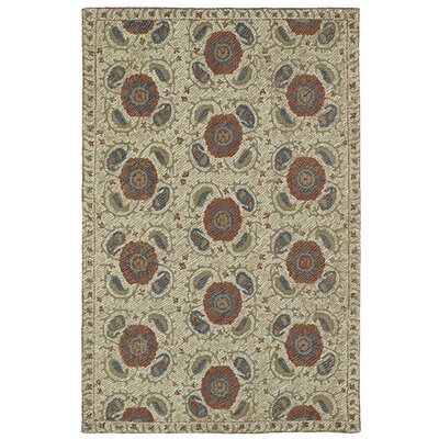 Valenzano Hand-Tufted Beige Area Rug Rug Size: Rectangle 2 x 3