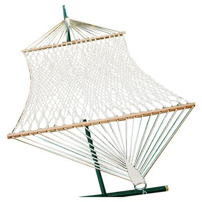 Lawson Double Cotton Rope Tree Hammock Size: Single