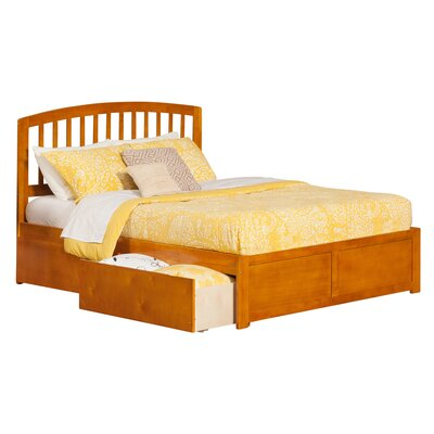 Allenville Storage Platform Bed Size: Queen, Finish: Caramel Latte