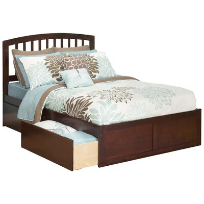 Ahoghill Storage Platform Bed Color: Antique Walnut, Size: Full