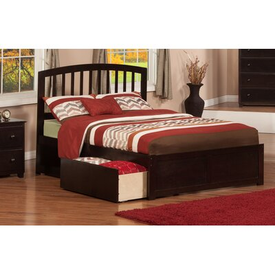 Ahoghill Storage Panel Bed Finish: Espresso, Size: Full