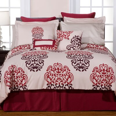 West Sixth 3 Piece Reversible Duvet Cover Set Size: Full / Queen