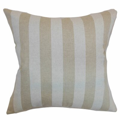 Knotts Outdoor 100% Cotton Throw Pillow Color: Cloud, Size: 20 H x 20 W