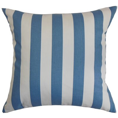 Knotts Outdoor 100% Cotton Throw Pillow Color: Baby Blue, Size: 18 H x 18  W