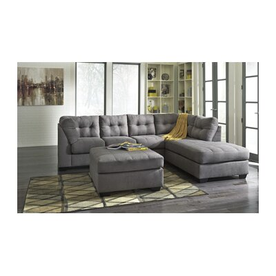 Kristopher Sectional with Ottoman