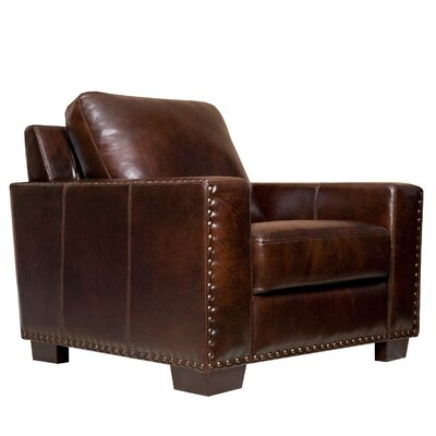 Brandi Leather Arm Chair