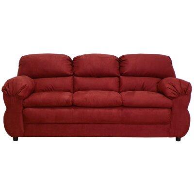 Alluvial Sofa Upholstery: Bulldozer Burgundy