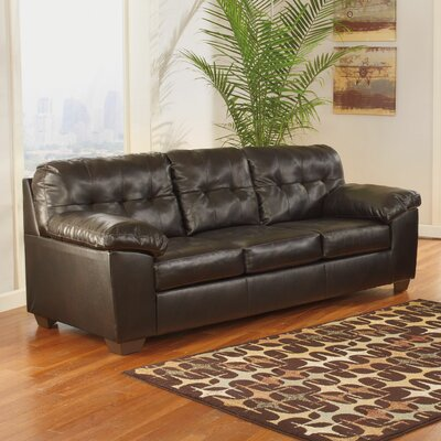 Manley Sofa Upholstery: Chocolate