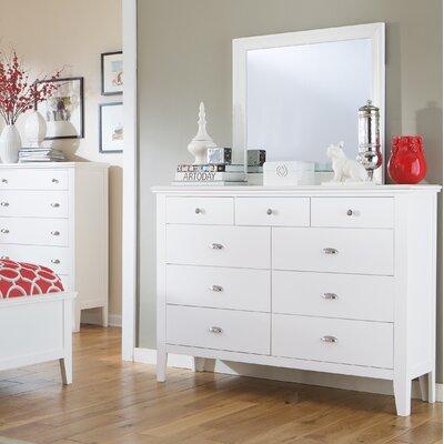 Wagonhouse 9 Drawer Dresser with Mirror