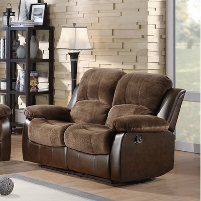RDBS1424 27548206 RDBS1424 Red Barrel Studio Parkersburg Double Reclining Loveseat