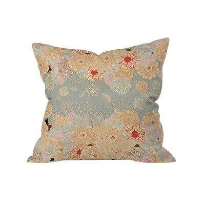 Bently Outdoor Throw Pillow Size: 16 H x 16  W x 5 D