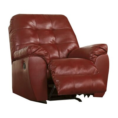 Manley Manual Rocker Recliner Upholstery: Salsa