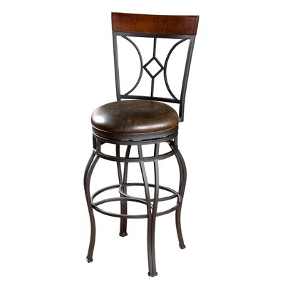 Dombroski 30 Swivel Bar Stool