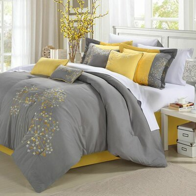Baltimore-Washington 8 Piece Comforter Set Size: King